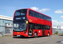 GAL EH60 - YX16OCS - NSF - BV BELVEDERE BUS GARAGE - THUR 28TH APR 2016 (Bexleybus) Tags: new bus london buses ahead garage go 400 belvedere dennis hybrid mmc bv enviro etb adl goahead eh60 yx16ocs