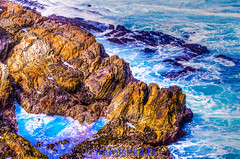 Little Tidal Pool (bay area man) Tags: ocean park sea beach water colors pool de nikon montana rocks state pacific outdoor mm 18200 tidal tides oro ciast d7000 califoinia