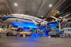 Lockheed VC-121B Constellation (Przemyslaw Burdzinski) Tags: holland museum lockheed constellation aviodrome n749nl vc121b