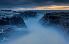 High Tide II (Jingshu Zhu) Tags: ocean sea seascape sunrise landscape rocks sydney australia narrabeen waterflow