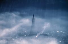 Mysterious Fog (Aerial Photography) Tags: winter church by clouds la mood nebel kirche wolken aerial deu stimmung luftbild dunst freyung landshut luftaufnahme kirchturm bayernbavaria deutschlandgermany ndb 7538060 stjodok fotoklausleidorfwwwleidorfde 11011998 051006133
