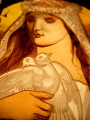 Love stained glass 2 detail (RDW Glass) Tags: charity love window scotland peace glasgow victorian stainedglass cleaning repair doves virtues 1870 rdwglass wjjkeir