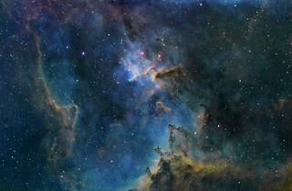 Heart Nebula - Narrowband
