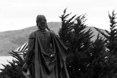 IMG_9420 (Projectstokes01) Tags: california bridge family trees bw usa white black tree statue kids america children golden kid gate san francisco child flag father mother bridges sigma and 18200 t3i 1100d