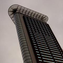 Flatiron (edwin van buuringen) Tags: building architecture officebuilding denhaag squareformat thehague flatiron hdr strijkijzer dynamicphotohdr