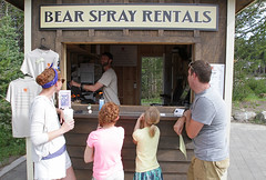 Bear spray rentals (YellowstoneNPS) Tags: hiking safety yellowstonenationalpark backcountry yellowstone