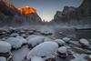 Frozen (East Wind) Tags: winter mist snow nationalpark rocks yosemite valleyview gatesofthevalley