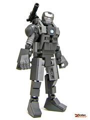 War Machine (ZetoVince) Tags: man greek war iron lego vince machine marvel warmachine zeto zetovince