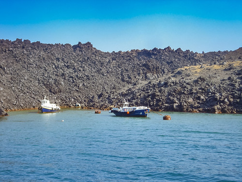 Santorin Vulkan volcano