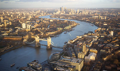 The View from the Shard - London (SE9 London) Tags: city uk bridge winter england london tower thames skyline river observation europe cityscape view britain united great piano kingdom deck wharf canary february shard southwark renzo sellar