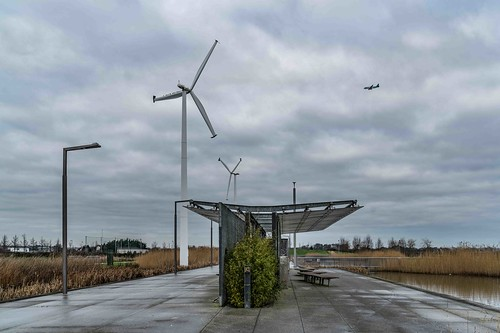 Wind Powered Public Park In Clongriffin Dublin [Father Collins Park]-110944
