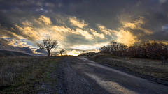 The mountain road after rain (drstar.) Tags: sunset clouds d610 flickrturkey