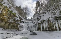 Frozen (michelangelo_84) Tags: winter espaa naturaleza snow ice nature water landscape frozen waterfall spain agua nikon wildlife awesome nieve paisaje invierno hielo larioja cascadas d5100