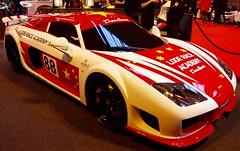 Noble M600 (Dave Hamster) Tags: carshow motorsport nec noble m600 racingcarshow autosportinternationalracingcarshow noblem600