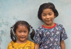 two pretty girls (the foreign photographer - ) Tags: girls two portraits thailand nikon pretty bangkok khlong bangkhen thanon d3200 jan232016nikon