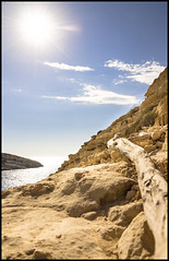pointing the way (LawsPhotography) Tags: landscape europa europe kreta greece crete griechenland landschaft matala landscapeviews christianlaws clawsphotography