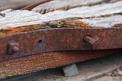 Bent (james.froumis) Tags: wood macro metal nikon rust bolt d750 bent 105mmf28micro oldpowaypark