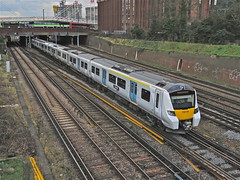 Out And About (Deepgreen2009) Tags: new test railway 700 unit eastcroydon thameslink desiro