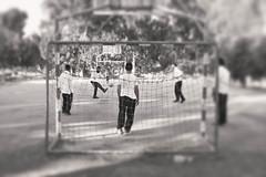 Football (tatzlum.photo) Tags: blackandwhite white black monochrome sport 35mm israel football play jew fujifilm recreation beit beitshemesh shemesh charedi x100t fujifilmx100t