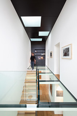 2 Row Houses In Goeblange / Metaform Architects (inspiration_de) Tags: house architecture stairs residence glassfloor