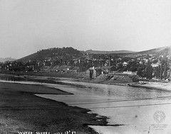 Brown Photograph 57: Water Works, July 13th, 1887 (Ohio County Public Library) Tags: waterworks wheeling ohioriver wheelingwv brownphotographs lowriver northwheeling wcbrown