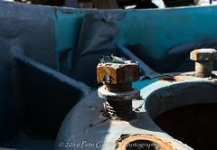 Peeling Painted Bolt (4 Pete Seek) Tags: atlanta junk wideangle wa junkyard 1018 atlantageorgia superwideangle uwa swa ultrawideangle a6000 1018f4 sel1018f4 starironandmetal