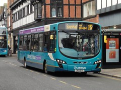 Arriva 3144 - CX12 DTF (North West Transport Photos) Tags: bus 15 chester wright pulsar arriva abw vdl wrightbus 3144 sb200 saughall foregatestreet vdlbus vdlsb200 pulsar2 wrightpulsar2 arrivabuseswales cx12dtf