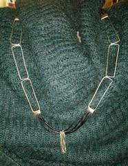 Simona (Albe Gioielli Jewelry) Tags: leather bronze forest silver necklace pendant 925 madeinitaly foresta argento giusy collana bronzo cuoio ciondolo albegioielli malandruccolo