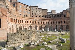 De mercado a museo (luisetegt) Tags: roma mercado imperioromano antiguaroma mercatustraiani mercadodetrajano forodetrajano forosimperiales