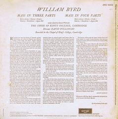 Byrd Mass in Three Parts Mass in Four Parts - Willcocks Argo 1 (sacqueboutier) Tags: records vintage vinyl lp sacred record classical mass baroque classicalmusic platter byrd platters lps choral lpcover earlymusic lpcollection vinylcollection vinyllover vinylcollector vinylnation lplover lpcollector