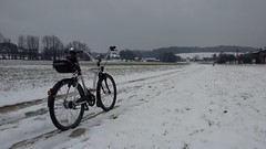 driving home for christmas ... ? (twinni) Tags: winter bike beachcruiser mw1504 15032016