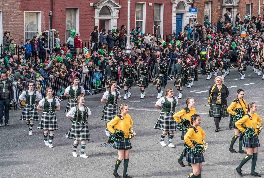 SHORECREST HIGH SCHOOL [ST. PATRICK'S PARADE IN DUBLIN 2016]-112259