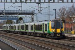 350256 Rugeley TV 08/03/16 (yamdood91) Tags: tv rugeley 2016 wcml trentvalley class350 londonmidland 350256
