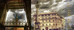La Colonna di Santa Maria Maggiore (Paul B0udreau) Tags: italy ontario canada roma texture nikon diptych gimp samsung niagara master layer column piazza hdr ribbet vivaitalia photomatix nikkor1855mm mariancolumn duoimage d5100 skeletalmess samsungmaster paulboudreauphotography nikond5100 photoshopcc