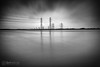 The Other Shore (ibriphotos) Tags: longexposure cycling commute friday pylons riverforth ndfilter alloa theshore ndx400 alloaharbour bigstopper