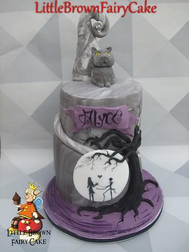 Alyce Cake, Tim Burton Inspired