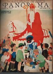 Panorama -den Haag1940   cover 5 december Willy Schermel  Sinterklaas (janwillemsen) Tags: sinterklaas willyschermelmagazinecoverpanorama1940