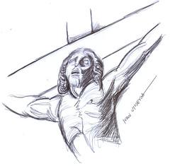 jess a lapicero (ivanutrera) Tags: pen christ drawing jesus draw cristo dibujo dios lapicero jesucristo boligrafo dibujoalapicero dibujoenboligrafo