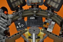 Decibelle_27 (Shadowgear6335) Tags: orange radio robot factory lego good technic hero bionicle mech moc shadowgear6335 bionicle2015