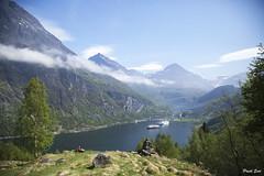 Geiranger Fjords (suripreeti) Tags: travel cruise mountains norway outdoor fjords geiranger
