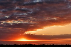 Sunset at Loxahatchee, Florida (Apryl Wiese) Tags: sunset florida wetlands sunsetsunrise loxahatchee