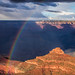Rainbow over O'neill Butte