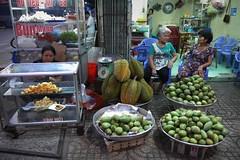Market of Can Tho (Iam Marjon Bleeker) Tags: market streetphotography streetlife vietnam markt streetview jackfruit cantho streetlifeofcantho vpdag111060648g