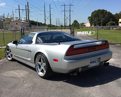 OUR CLIENT'S ACURA NSX WITH FORGELINE FF3 WHEELS (WheelsPerformance) Tags: silver wheels acura forged nsx ff3 fivespoke worldcars forgeline wheelsperformance wheelsp wheelsgram