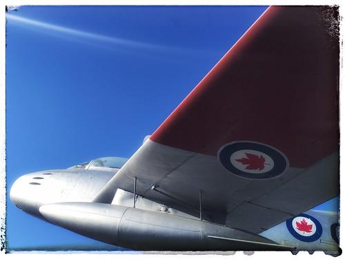 Plane on Pedestal 2, Sydney BC