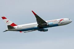 Austrian Airlines Boeing 767-3Z9(ER), OE-LAE. (Trevor Mulkerrins) Tags: boeing airlines austrian 30383 oelae 7673z9er