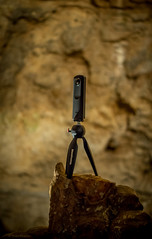 cave exploration (severalsnakes) Tags: vacation miniature pentax interior tripod mini formation missouri mineral cave stalagmite lakeoftheozarks ricoh onyx stalactite manfrotto ks2 theta deposit camdenton thetas bridalcave da5018 theta360 saraspaedy