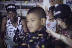 Rasu (RoX4NnE) Tags: red color kids digital portraits de 50mm la centro documentary nios retratos 5d mayo yami 20 f18 milena cultural documental asociacin brisas siloe giraldo comuna accr gabanzo pelucali