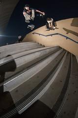 Jeremy Warren hardflip (memoryhousemag) Tags: arizona skateboarding fisheye stairset hardlfip memoryhousemag