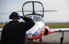 'Snowbirds' (aeroman3) Tags: canada flying bc aircraft formation airforce snowbirds aerials comox tutor comoxvalley ct114 crewchief acaf airdemonstration robertbottrill majorchrisbard darrenknap sergeantdarrenknap